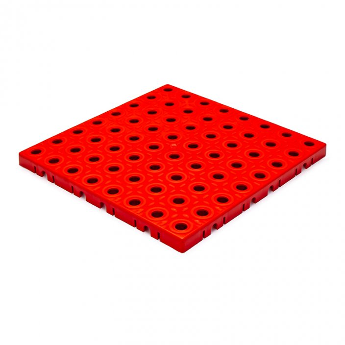 GripTil Base Red - Material: Hard - tough PP