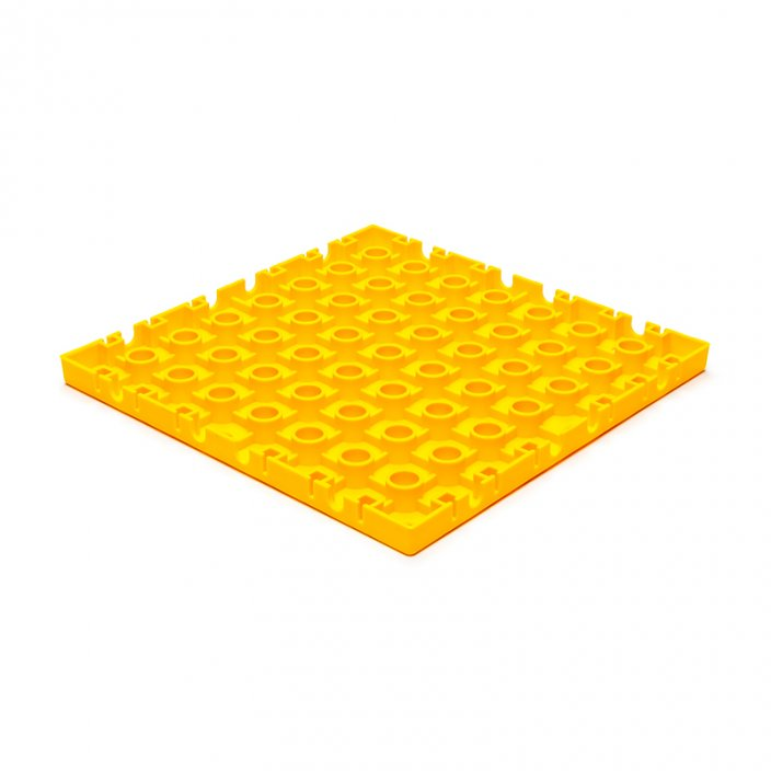 GripTil Base Yellow - Material: Hard - tough PP