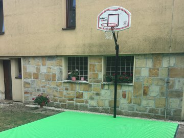 Basketball home court