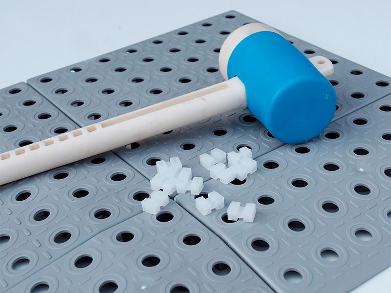 Plastová podlah GripTil - instalace